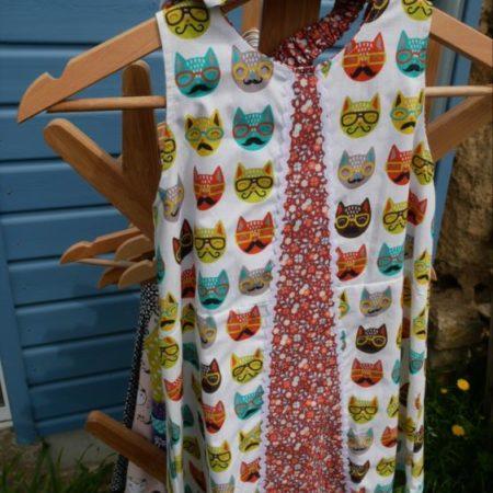 robe trapèze 4 ans coton