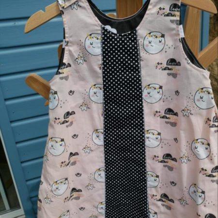 robe trapèze 3 ans coton
